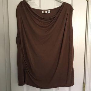 EUC CATO cowl neck blouse